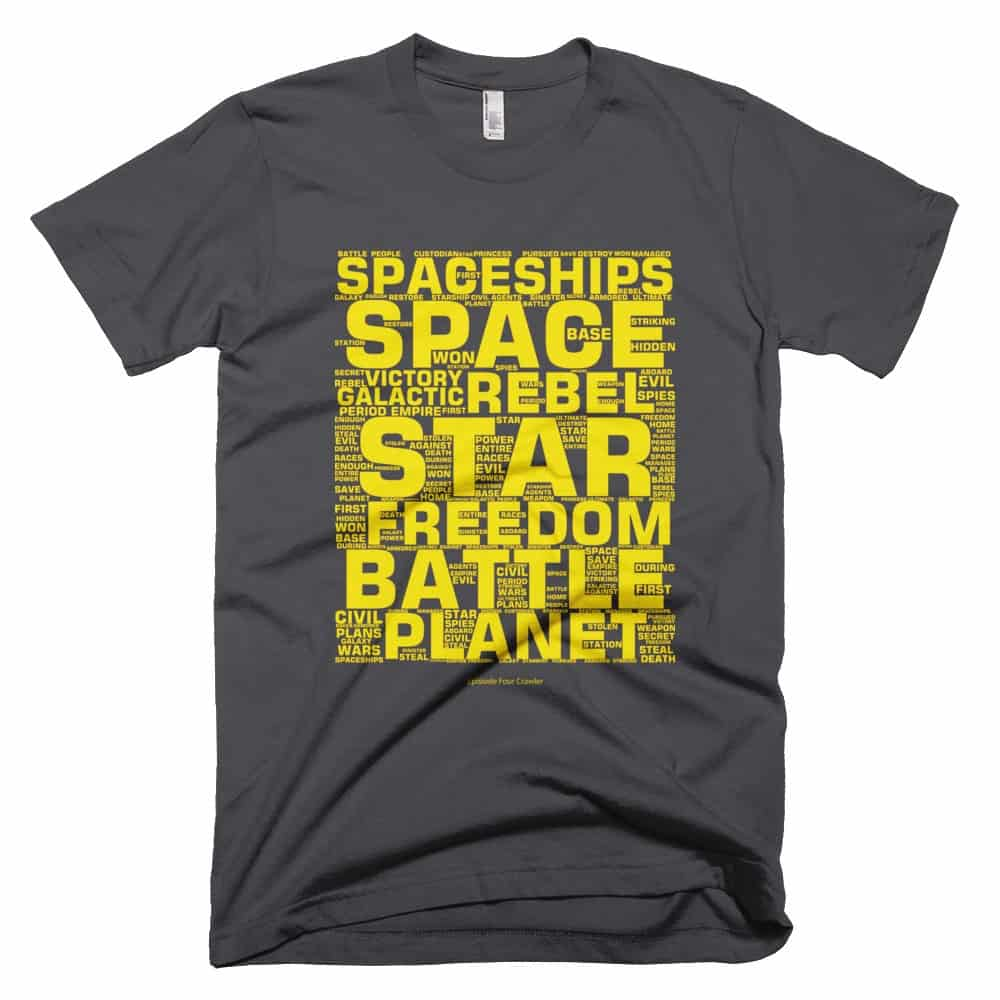 EP4 Crawler T-shirt - Asphalt