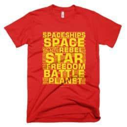 EP4 Crawler T-shirt - Red
