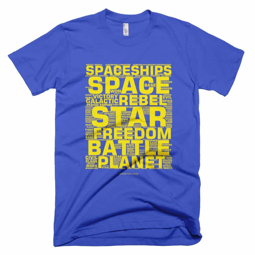EP4 Crawler T-shirt - Royal Blue