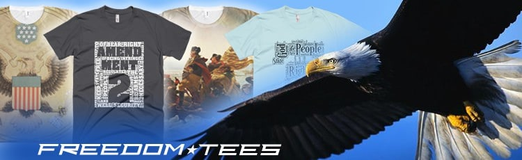 Patriotic T-shirts made in America