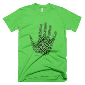 Gospel of John T-shirt – Green