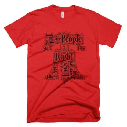 Liberty Bell T-shirt - Red