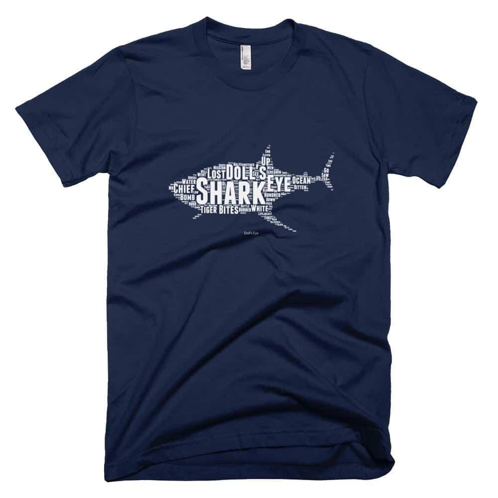 Shark T-shirt - Navy
