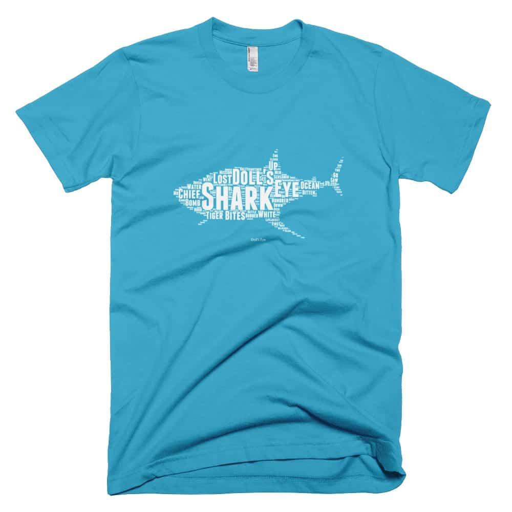 Shark T-shirt - Turquoise