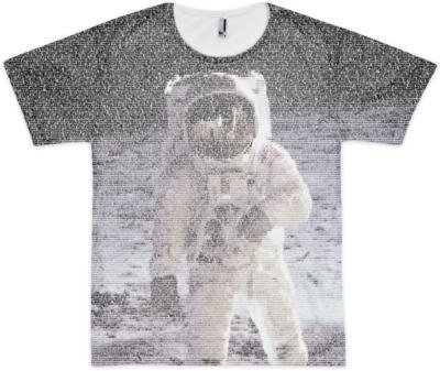 Fusion T-shirt Apollo 11